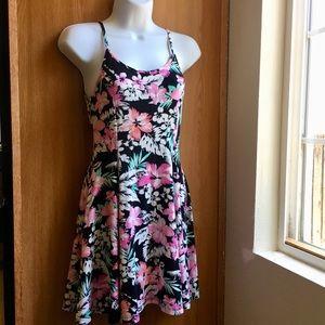 Forever 21 Floral Dress, Spaghetti Straps Dress, M